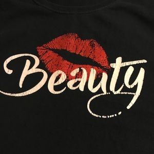 Tops - Sexy Beauty lips vintage T-shirt